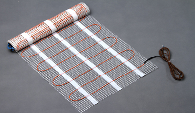twin conductor underfloor heating mat