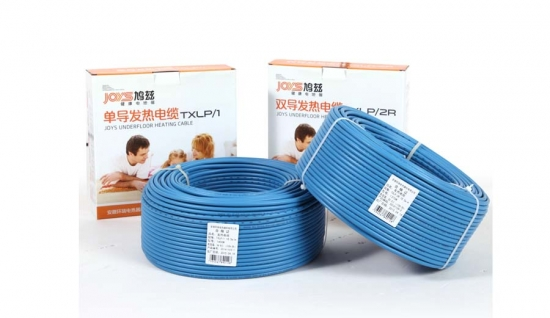 Single conductor underfloor heating cable