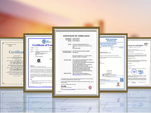 Our products are certified by IECEx and UL